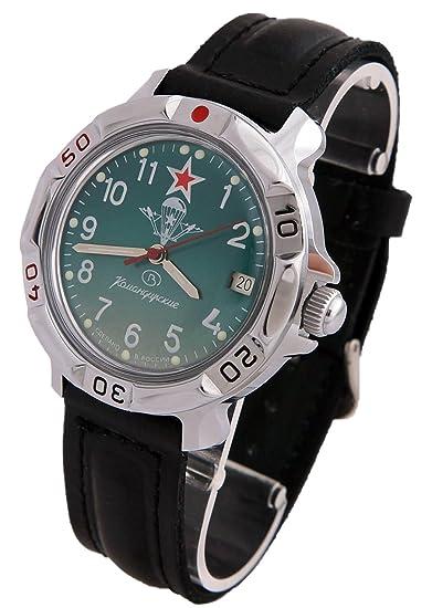 Vostok KOMANDIRSKIE reloj de ruso Militar Paracaidista Militar VDV 2414/811307