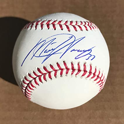 3166b822203 Image Unavailable. Image not available for. Color  Matt Harvey Autographed  Signed Official MLB Baseball Memorabilia ...