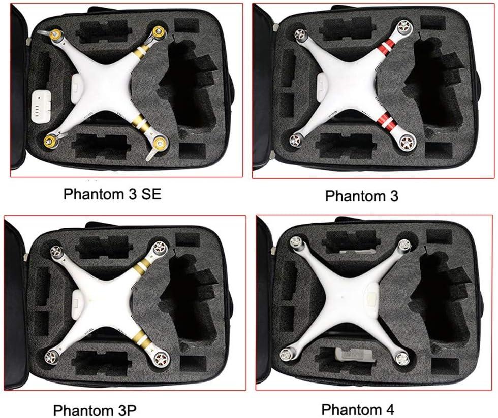 Sac /à Main Bo/îte de Rangement pour Appareil Photo Bescita2 Sac /à Dos /étanche Compatible avec DJI Phantom 3S 3A 3SE 4A 4 4Pro et Accessoires Sac de Transport r/églable Anti-Choc