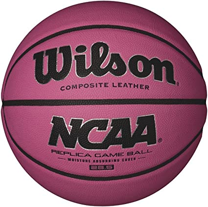 Wilson WTB0731XBPINK Pelota de Baloncesto NCAA Replica 285 Cuero ...