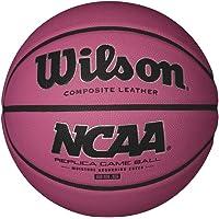 WILSON NCAA Bola de Baloncesto, Rosa, réplica, 72 cm