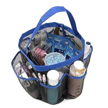 Amazon.com: Ellelove Portable Mesh Shower Caddy Tote Quick Dry Large ...