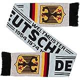 Germany Deutschland Soccer Knit Scarf White (Matches Jersey)