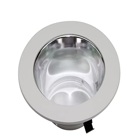 RSA LIGHTING 99WH 4u0026quot; RECESSED LIGHTING ALZAK WHITE FLANGE REFLECTOR TRIM ...  sc 1 st  Amazon.com & RSA LIGHTING 99WH 4