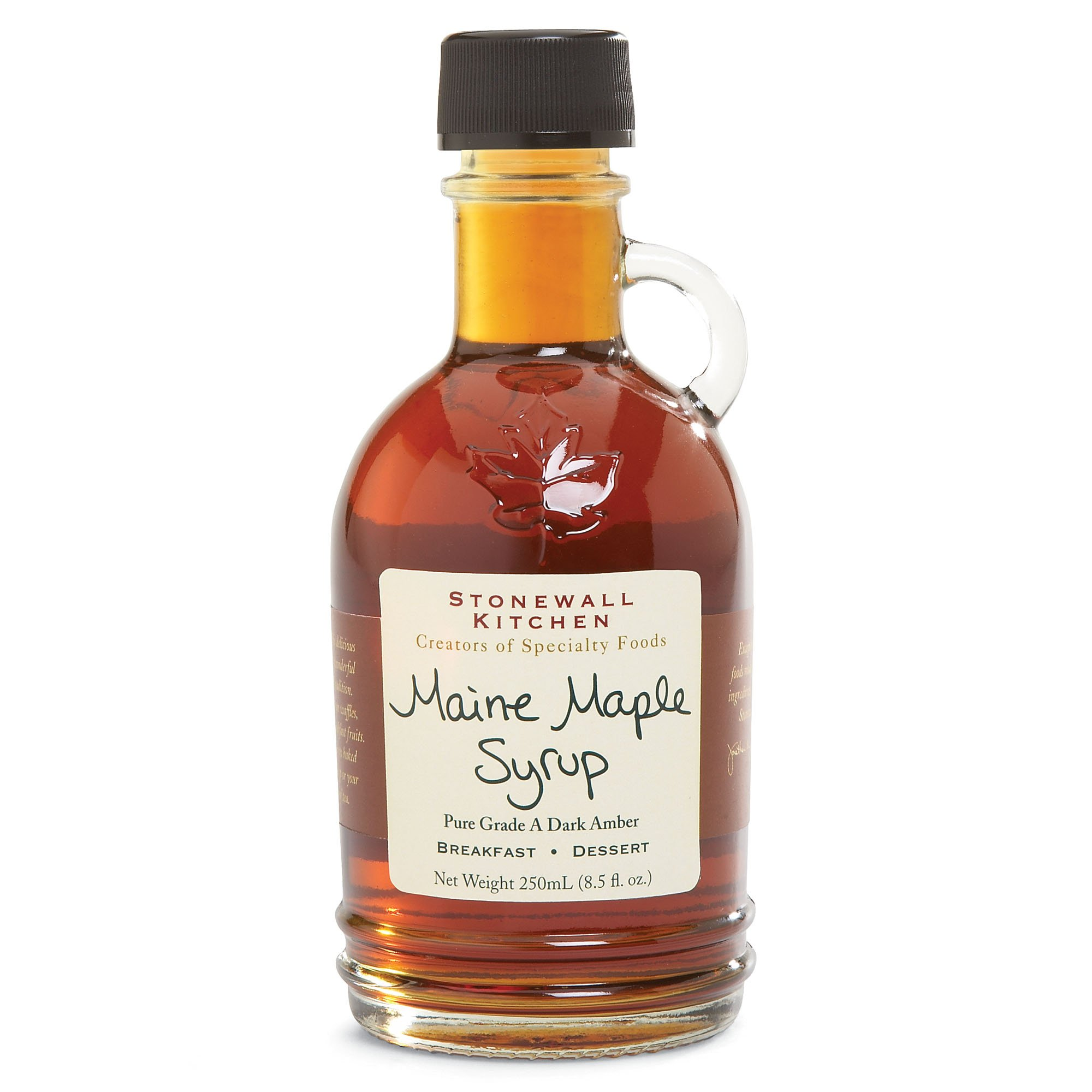 Stonewall Kitchens Maine Maple Syrup 8.5-Ounce Jars (Pack of 6) by Stonewall Kitchens