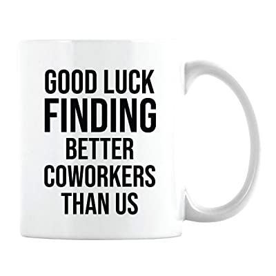 Ceramic Coffee Cup Thoughtful Thank You Gifts for Women Mentor Friendship Employee Mom Inspirational Coworkers Funny Gifts Ideas for Friends Graduation Presents for Her Boss Birthday