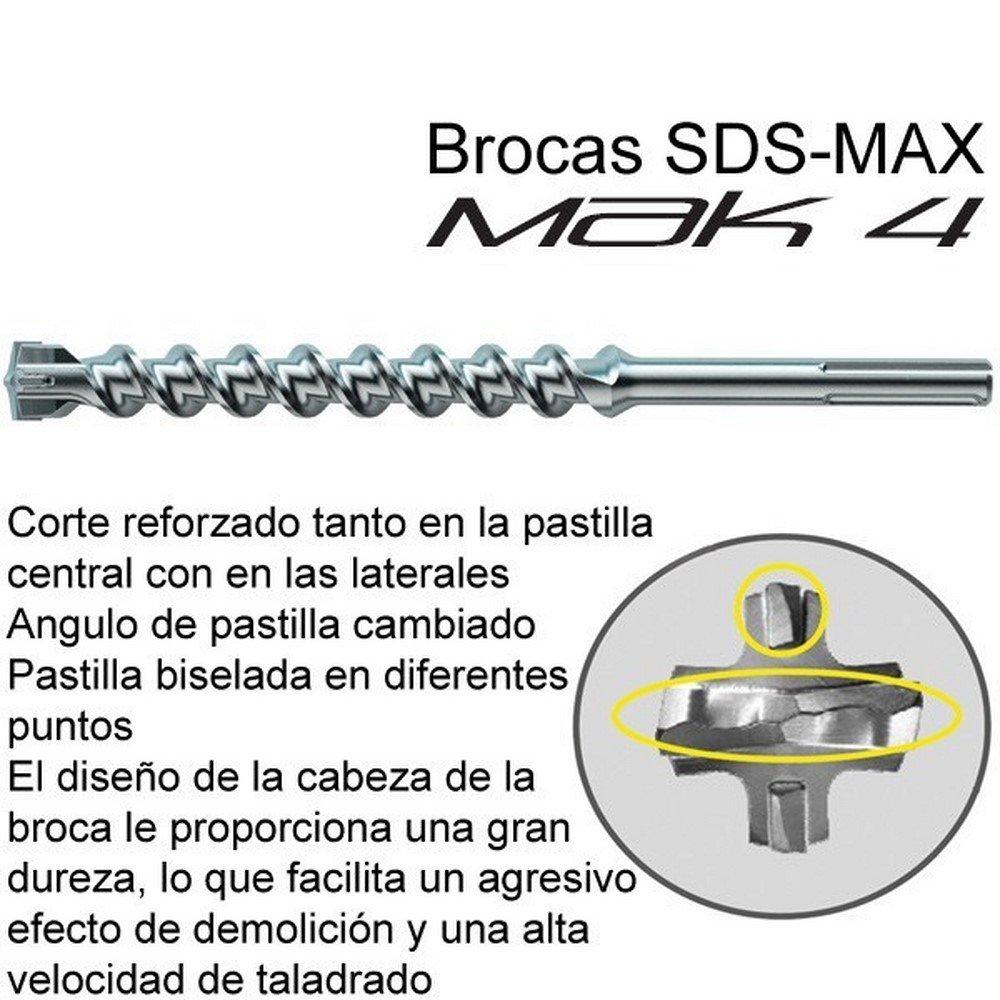 Makita P-78184 - Broca SDS-MAX MAK4