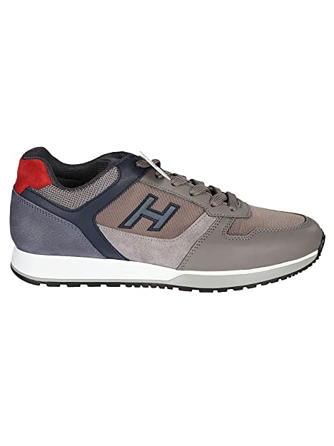 Hogan Hombre HXM3210Y860JBV374Q Cuero Sintético Zapatillas: Amazon.es: Zapatos y complementos