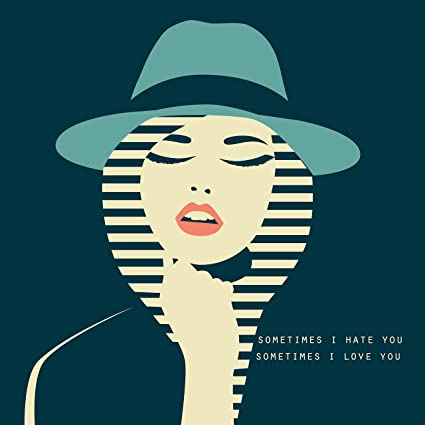 fe0c23789 Amazon.com: EzPosterPrints -Stylized Sexy Woman with Hat Posters Lady Model  Poster Printing - Wall Art Print for Home Office Decor - Green HAT - 12X12  ...