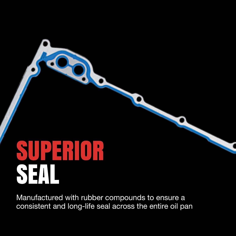 Fel-Pro OS 30693 R Oil Pan Gasket Set FelPro OS30693R Engine Sealing vc