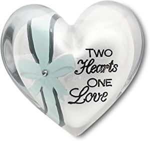 Heart Expressions by Pavilion Heart Token, Two Hearts Sentiment, 1-1/2-Inch