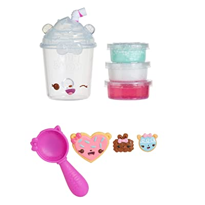 Num Noms Snackables Silly Shakes - Blueberry Mint Smoothie Slime, Multicolor: Toys & Games