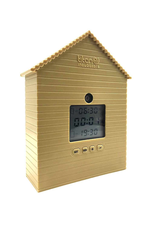 Automatic Chicken House Door Opener WITH Light Sensor & Timer Titan incubators