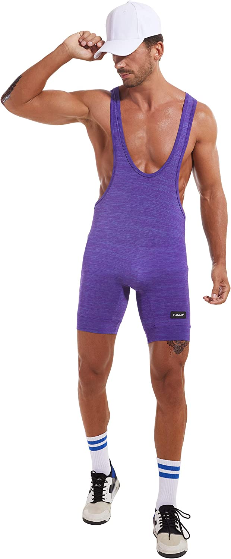 F plus R Nylon Wrestling Singlet Bodywear Sport Training Bodysuit