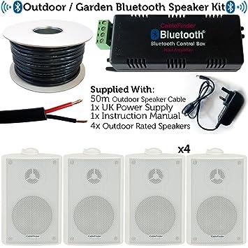 Exterior/externo Bluetooth sistema de altavoces – cerveza jardín/fiesta barbacoa Kit – 30