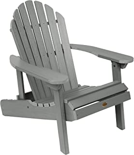 product image for Highwood AD-CHL1-CGE Hamilton Folding and Reclining Adirondack Chair, Adult Size, Coastal Teak