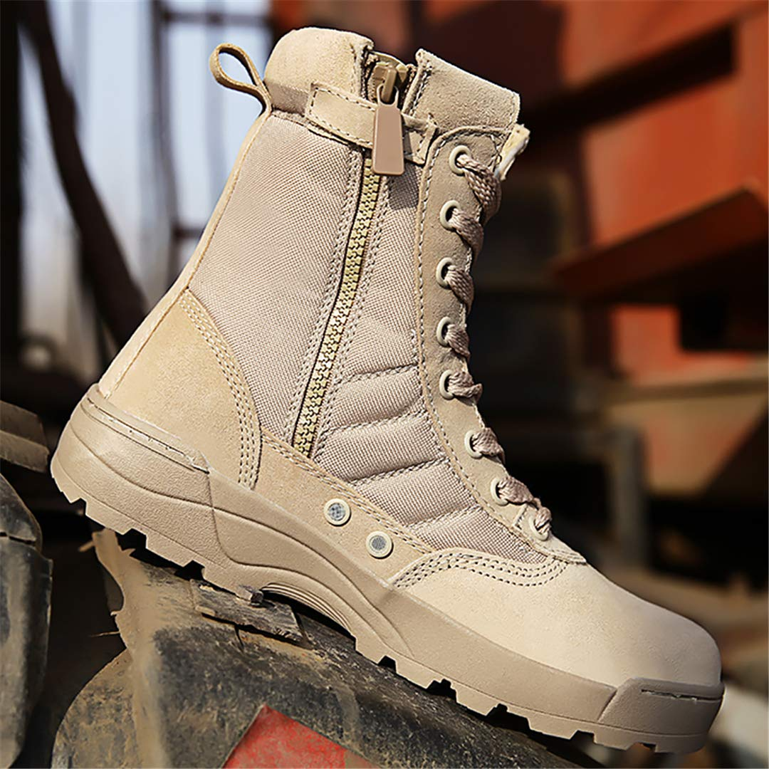 0ce864da74825 Amazon.com: Military Boots Tactical Boot Outdoor Hiking Shoes Combat ...