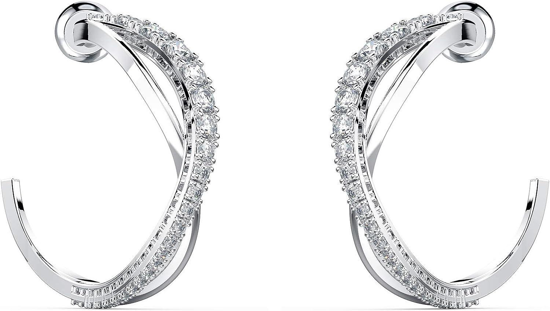 SWAROVSKI Women s Twist Rows Crystal Jewelry Collection