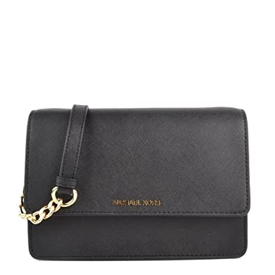 c5955f567efa MICHAEL by Michael Kors Daniela Black Crossbody Bag one size Black ...