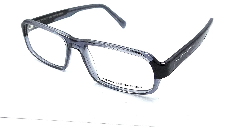 def8ec549045 Amazon.com: Porsche Design Rx Eyeglasses Frames P8215 C 55x16 Blue / Carbon  Made in Italy: Clothing