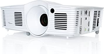 Optoma Hd240w Dlp Projektor Full Hd 3000 Lumen 25 000 1 Kontrast 3d Heimkino Tv Video