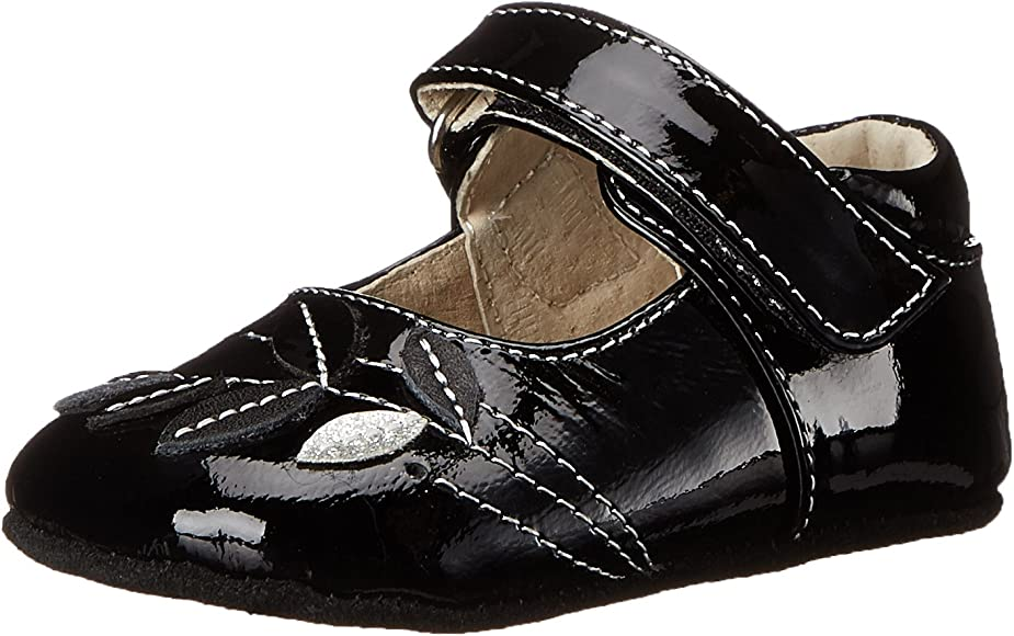 NEW See Kai Run Maya Mary Janes Black Patent Leather Sz 12 18 m Shoes Baby Girls