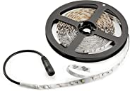 Radiance Flexible Light Strip, 16.4 ft, Daylight White, Cuttable/Linkable
