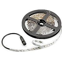 Radiance RAD-0004 300-LED Flexible Strip LED Lights, 16.4' Cuttable/Linkable Easy Install Lighting Strips, Daylight White