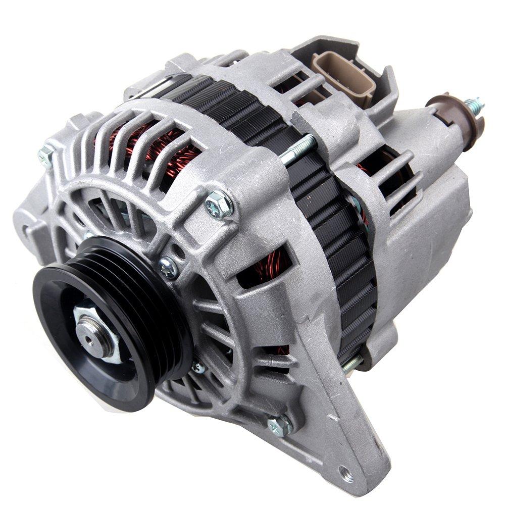SCITOO Alternators 85A/12V S4 13787 fit Mitsubishi Mirage 1.8L 1998 1999 2000 2001 2002 Mitsubishi Lancer 2.0L 2002 2003 2004 A2TB0892
