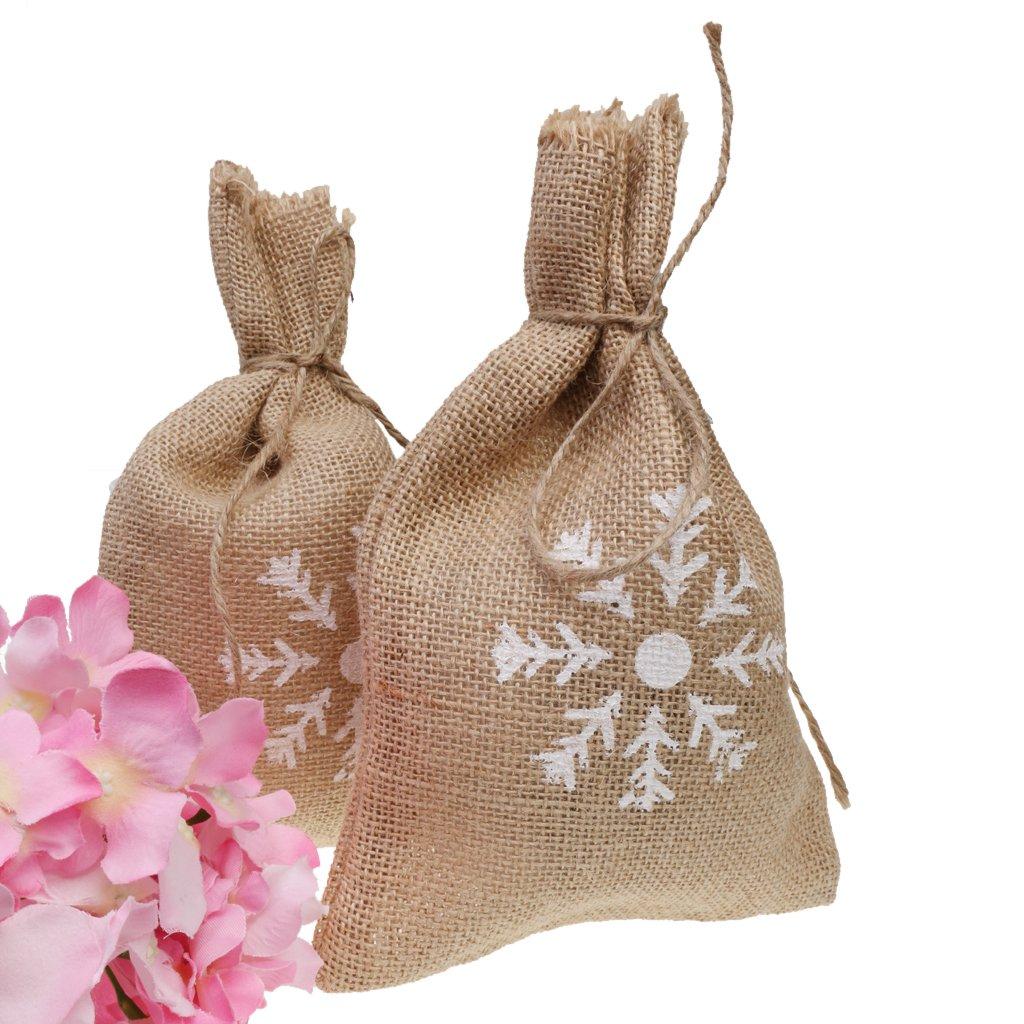 Amazon.com: monkeyjack 10 unidades bolsas de yute saco de ...