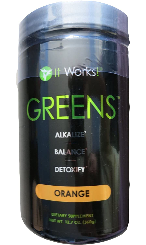 It Works! Greens, 12.7 oz, Orange