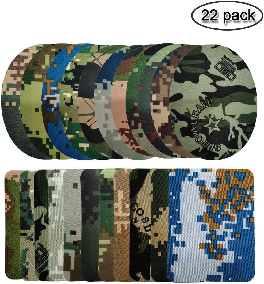 26 unidades Parches para planchar y coser Aliyer