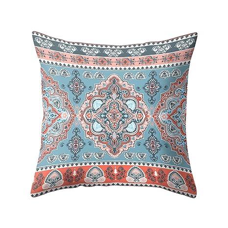 AchidistviQ - Funda de cojín para sofá o cama, estampado ...