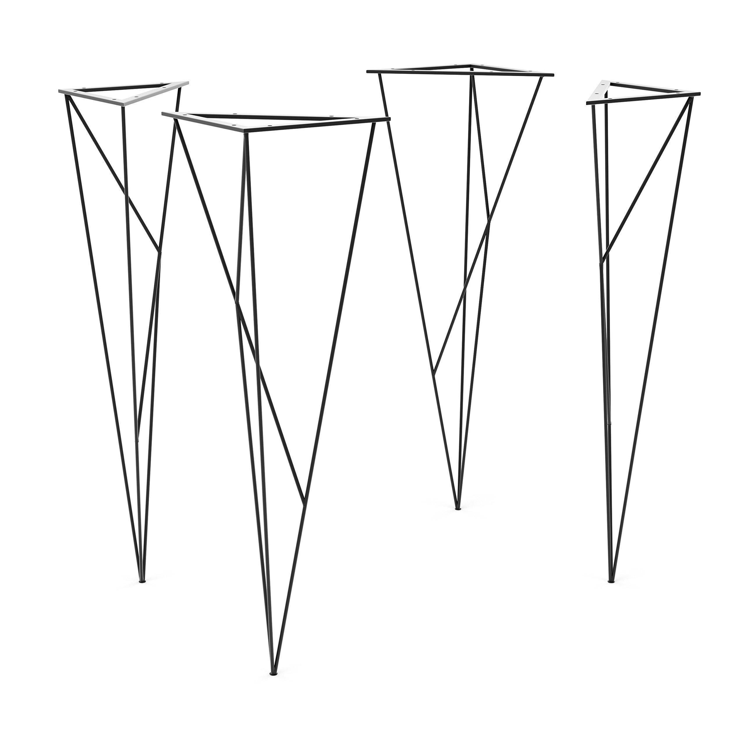 UMBUZÖ Steel Spider Web Hairpin Legs (Set of 4) by UMBUZÖ (Image #1)