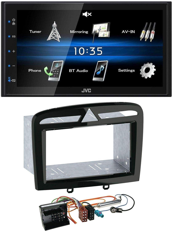 Caraudio24 Jvc Kw M24bt 2din Bluetooth Mp3 Aux Usb Elektronik
