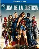 Liga de la Justicia (Blu-ray +DVD), la portada puede variar