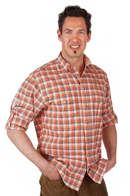 Orbis Textil H067 - Trachten Hemd mit Krempelarm