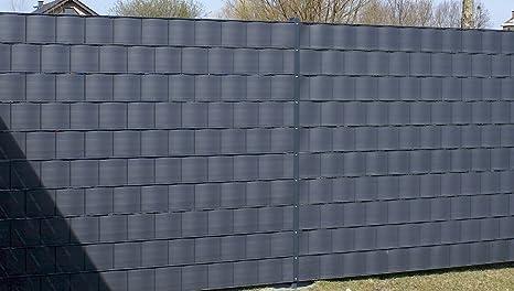 Gartenwelt Riegelsberger Bande Brise Vue Dimensions 2550 X 190 X 1 1 Mmpare Vue Pare Vent Pvc Rigide Bandes Pour Tressage Plastique Nattes