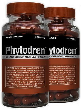 Phytodren 2 Pack – Hardcore Weight Loss – Burn Fat – Boost Energy Levels – Eat Less