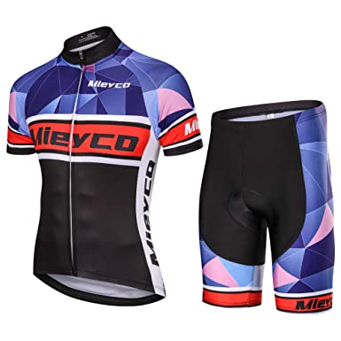 Meiyco Ciclismo Ropa Cycling Jerseys Bicycle Clothing with 3 Pockets (S) 0d556d9c6