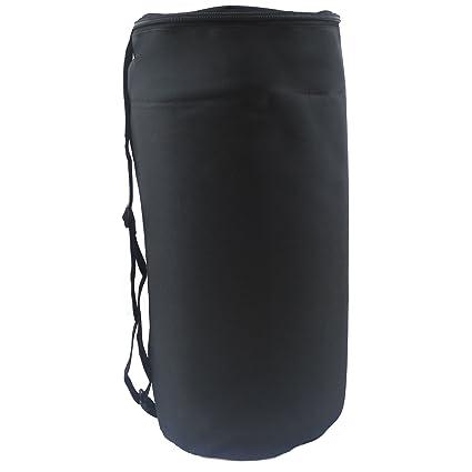 belmalia grandes bolsas funda Esterilla y almohada de acupresión, saco la funda, Negro