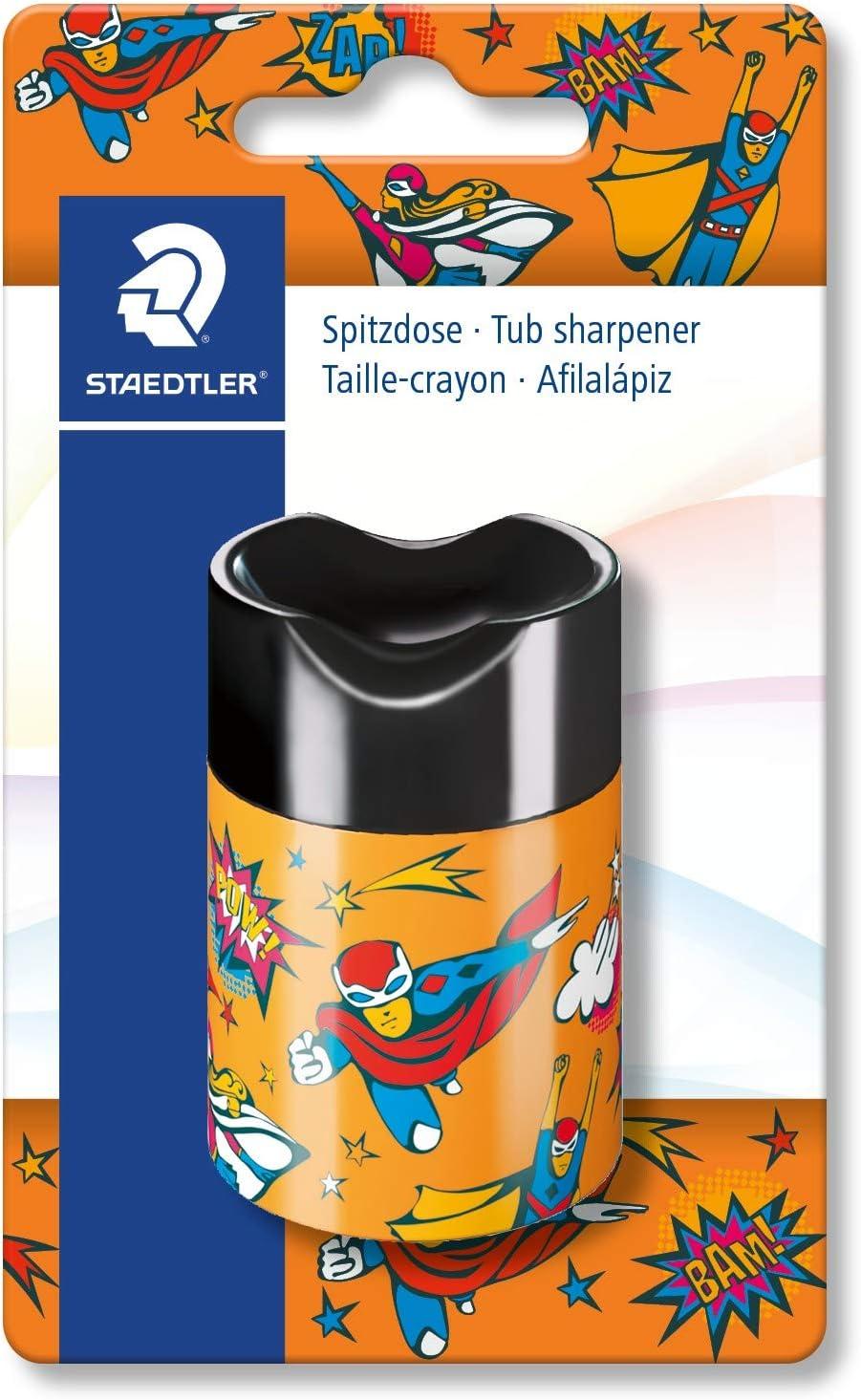 Staedtler Noris 511 66COBK - Afilalápices con depósito y cierre de seguridad: Amazon.es: Oficina y papelería