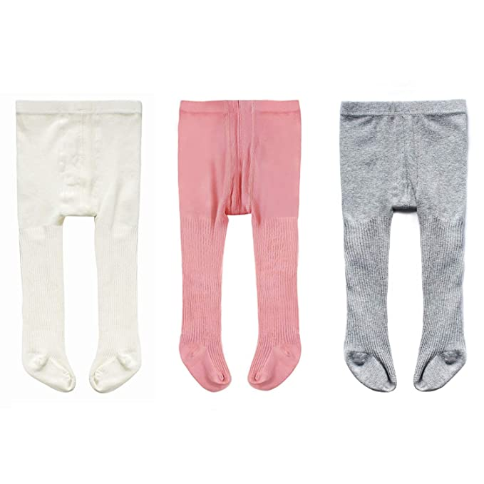 5e94024968cf8 Amazon.com: Cute Cotton Tights for Baby Girls Cable Knit Leggings ...
