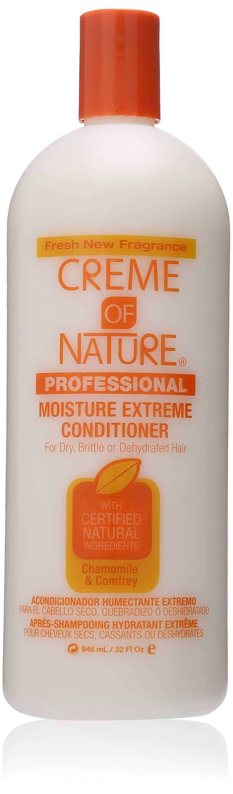 Creme of Nature Moisture Extreme Conditioner with Chamomile and Comfrey, 32 Ounce