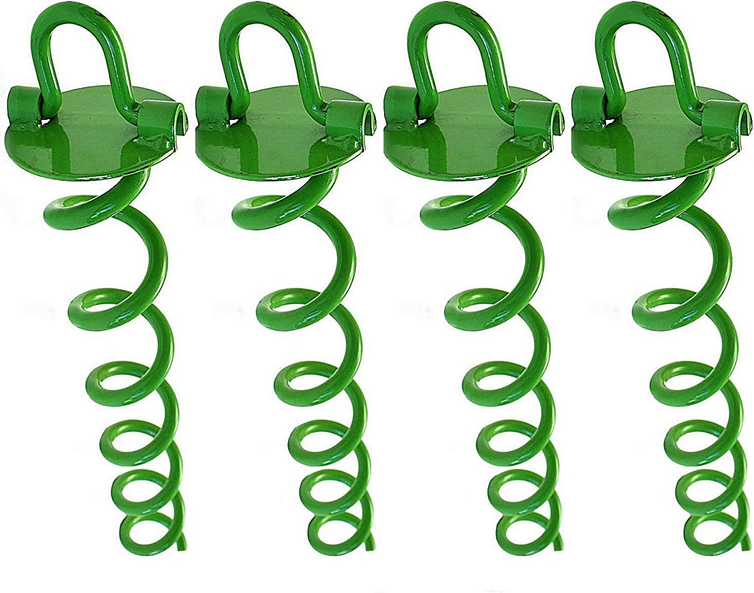 N1Fit Trampoline Anchors - Trampoline Stakes - 16 Inch Ground Anchor Ideal as Dog tie Out Stake Securing Animals, Tents, Canopies, Sheds, Car Ports, Swing Sets