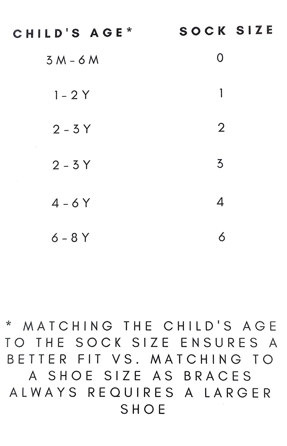 Ideal for Pediatric AFOs 5 Pack Knee High AFO Baby Socks SMOs and Foot Braces