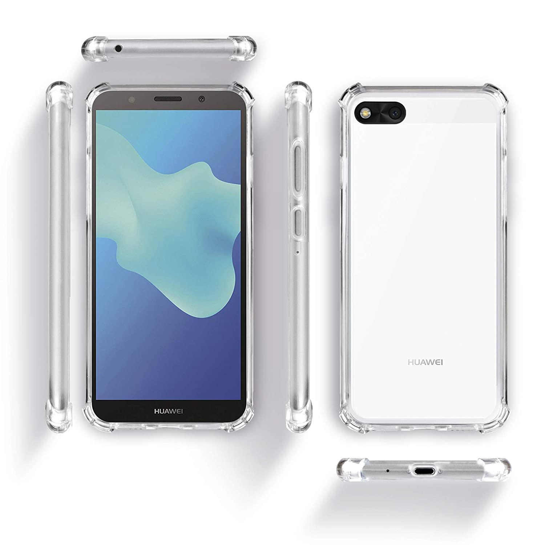 c5d14d70e4da1 Moozy Funda Silicona Antigolpes para Huawei Y5 2018   Y5 Prime 2018   Amazon.es  Electrónica