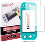 EVORETRO Tempered Glass Kit for Nintendo Switch Lite - Ultra Clear