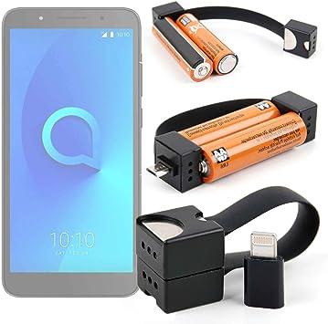DURAGADGET Cargador de Llavero para Smartphone ALCATEL ...
