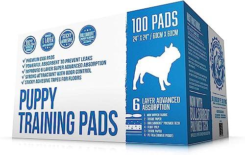 Bulldogology-Premium-Puppy-Pee-Pads-with-Adhesive-Sticky-Tape